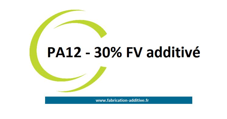 PA12-30%FV Additivé