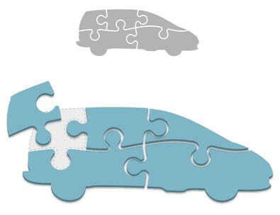 Fabrication additive : pièces détachées