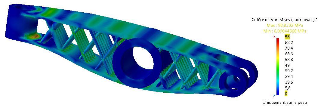Fabrication additive - culbuteur SLS
